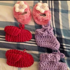 Other - Homemade baby slippers